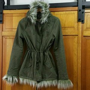 Jackets & Blazers - Custom Anorak Coat